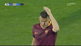 Pescara-Roma, Dzeko si infuria con Spalletti dopo il cambio