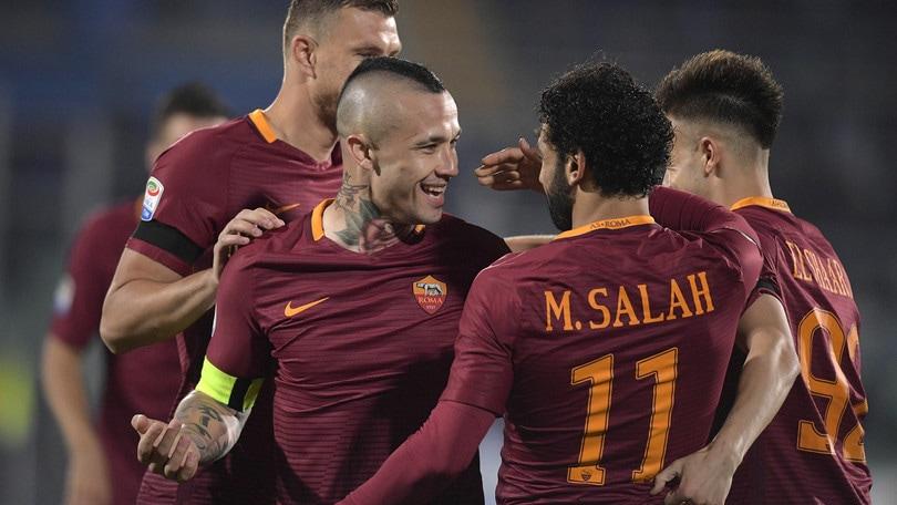 Pescara-Roma 1-4: doppietta di Salah. Zeman retrocesso