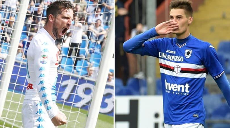 Calciomercato Napoli, conferme e nuovi obiettivi: con Mertens c'è Schick
