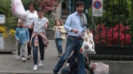 Juventus: Andrea Agnelli all'ospedale per trovare Deniz e la neonata Livia