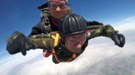 Giuseppe Degrada, paracadutista a 96 anni