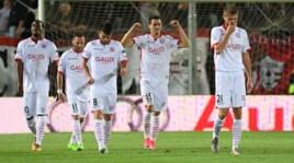 Serie B: Carpi-Trapani 2-1, lo show di Lasagna