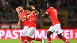 Serie B: Perugia-Verona 1-1, le immagini del pareggio