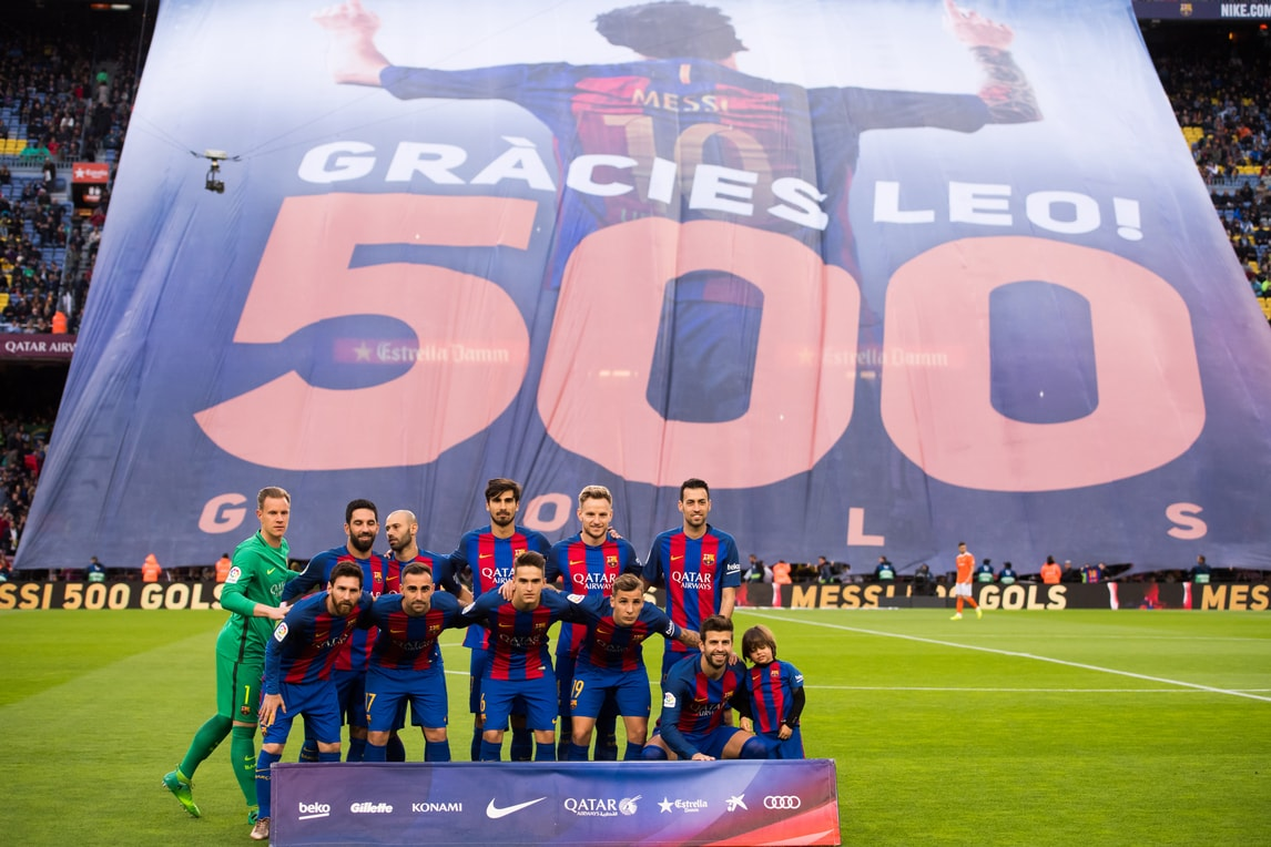 Barcellona: che festa per il record di Messi al Camp Nou!