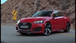 Audi RS5, 450 cavalli di eleganza