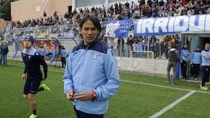 Lazio, cori e bandiere a Formello: carica derby dei tifosi