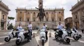 Roma, 240 scooter elettrici a noleggio