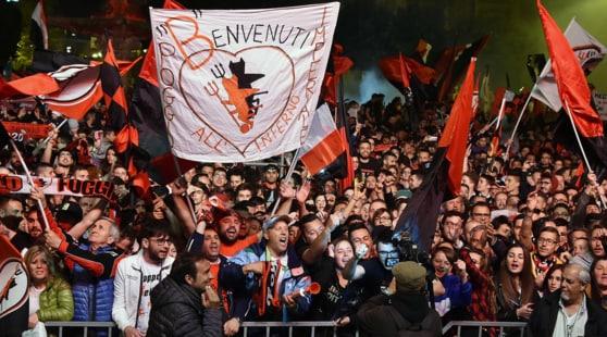 Foggia in Serie B, 50 mila satanelli in paradiso
