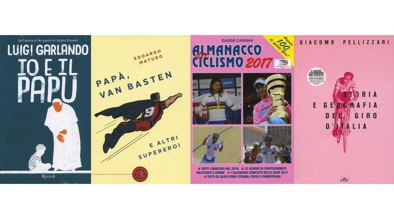 Il Papu, Van Basten e altri supereroi, l'almanacco del ciclismo e 21 tappe storiche del Giro d'Italia