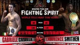 Casella vuole il Mondiale WMO di Muay Thai