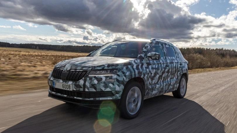 Skoda Karoq, la nuova SUV media è in arrivo