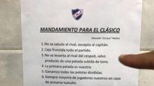 Uruguay, i 10 comandamenti del Clásico scritti nello spogliatoio