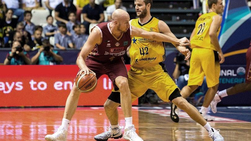Basket Champions League, Venezia travolta da Tenerife
