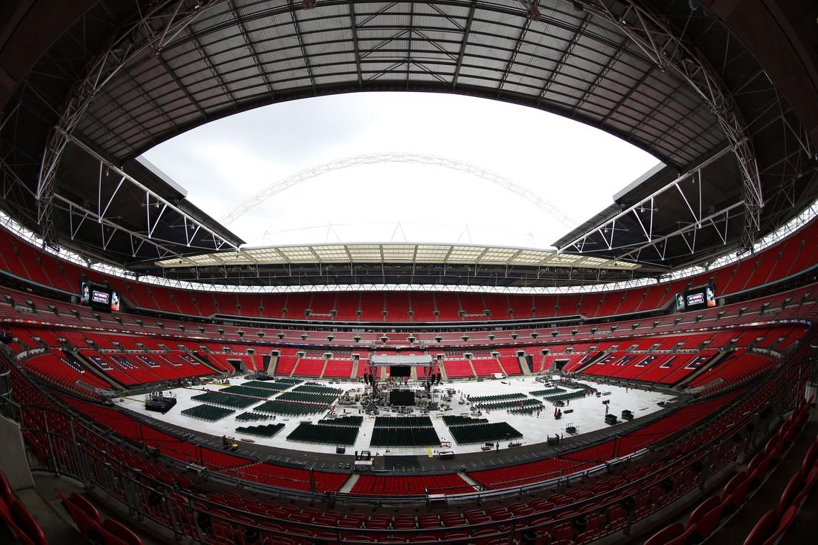 Joshua-Klitschko: Wembley trasformato in ring per il match dell'anno