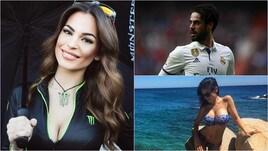"""Carmen Muñoz, il bel """"motivo"""" che tiene Isco al Real Madrid"""