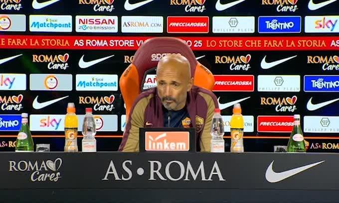 """Spalletti: """"Monchi? Penso solo al secondo posto"""""""