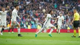 Liga: Real Madrid-Valencia 2-1, che show di Marcelo!