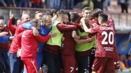 Trapani-Virtus Entella 2-0, una vittoria per rimanere in Serie B