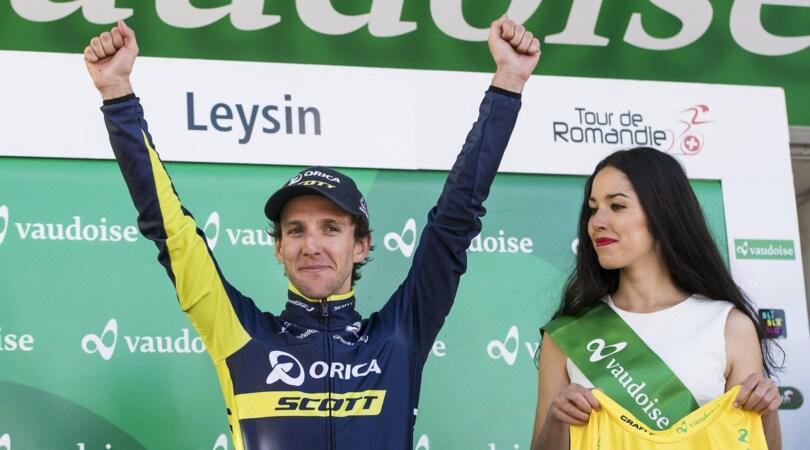 Giro di Romandia: a Yates la quarta tappa e la testa della corsa