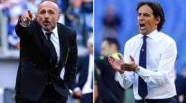 Roma-Lazio: le formazioni scelte da Spalletti e Inzaghi