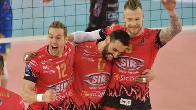 Volley: Champions League, Perugia vince la battaglia del PalaLottomatica