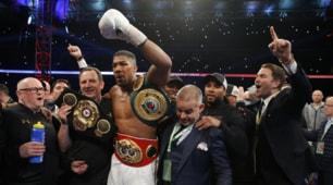 Boxe: Joshua è il re del mondo, lo scontro con Klitschko