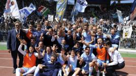 Lazio, che festa per la vittoria nel derby!