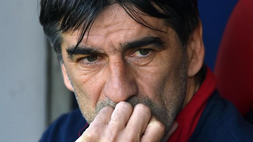 Serie A Genoa, Juric: «Inspiegabile. Ho paura della Serie B»