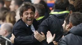 Il Chelsea travolge l'Everton, Conte è incontenibile!