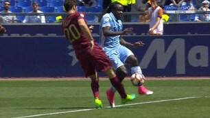 Roma-Lazio: il contatto Fazio-Lukaku è da rigore