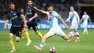 Inter-Napoli 0-1: decide Callejon