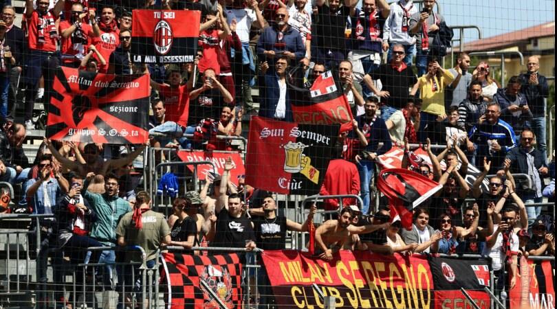 Polizia evita scontri tra tifosi di Milan e Napoli