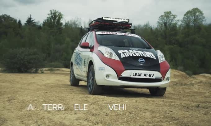 Nissan Leaf AT-EV: l'elettrica per i rally