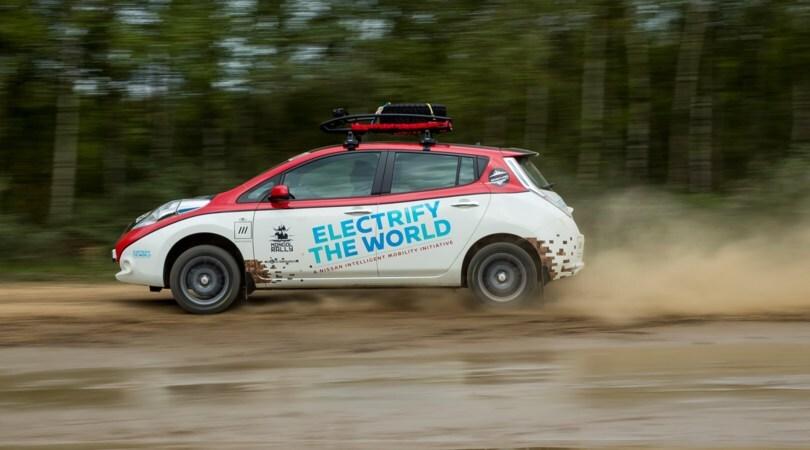 Sfida elettrica: 16.000 km con una Nissan Leaf