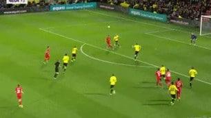 Liverpool: Emre Can, pazzesco gol in rovesciata contro il Watford