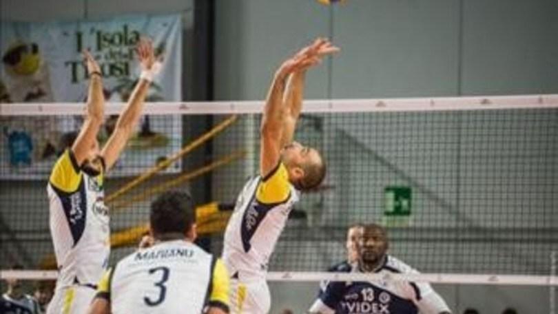 Volley: A2 Maschile, domani Spoleto e Castellana Grotte in campo per Gara 2