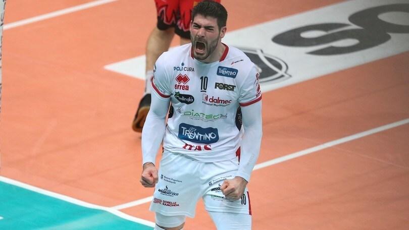 Volley: Superlega, Filippo Lanza MVP delle semifinali