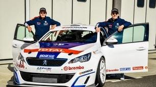 Stefano Accorsi e Peugeot 308 Cup