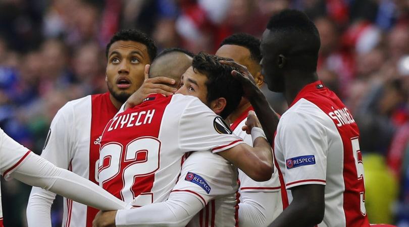 Europa League, Ajax-Lione 4-1: finale a un passo