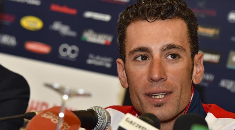 Nibali: Al Giro d'Italia voglio salire sul podio