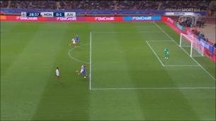 Monaco-Juventus, la sequenza del gol di Higuain