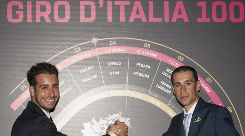 Ciclismo: al via la 100ª edizione del Giro d'Italia