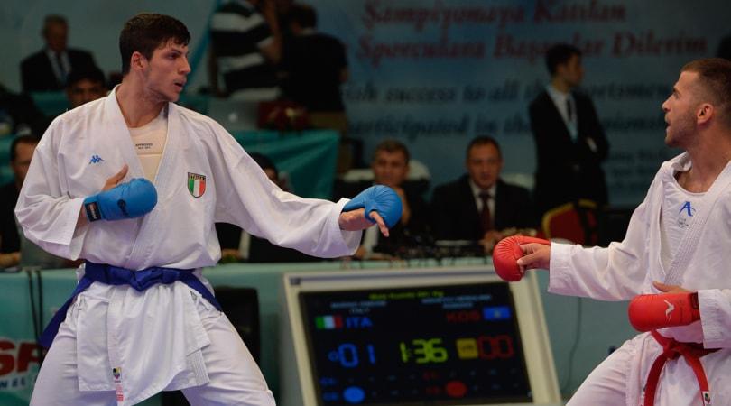 Europei di Karate, Italia da sogno