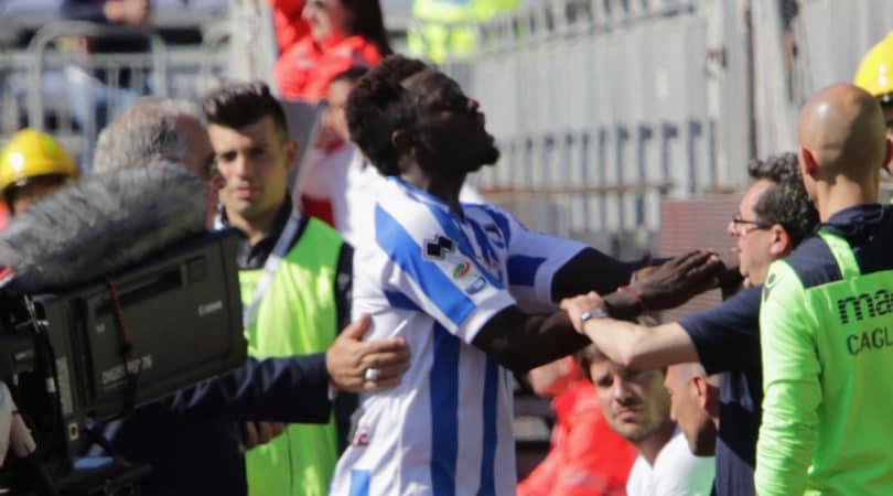 Squalifica annullata, Muntari: «Io trattato come un criminale»