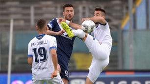 Brescia-Latina 1-1: Caracciolo pareggia al 94'