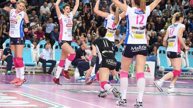 Volley: A1 Femminile, Novara batte ancora Modena ed si porta in vantaggio