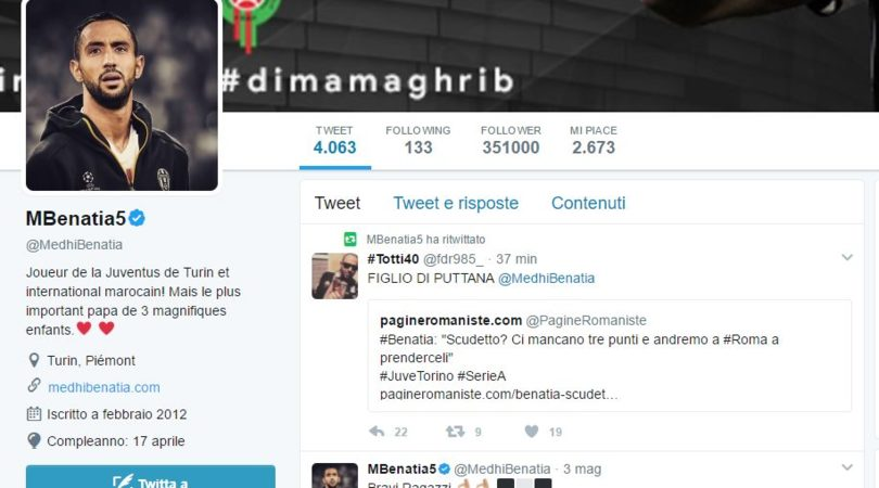 VIDEO Benatia, bufera in tv: «Che dici, marocchino di m...»
