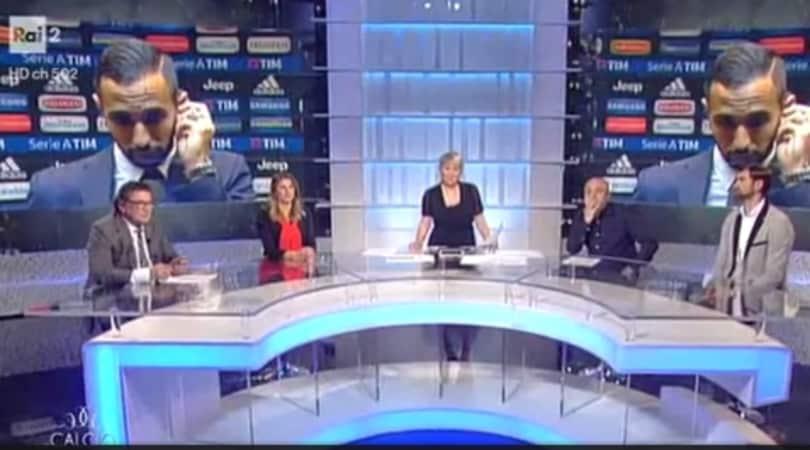 Benatia insultato in diretta tv: