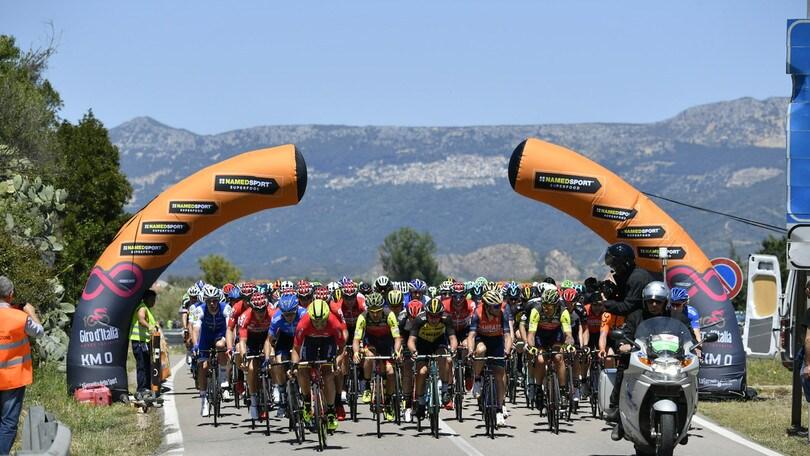 Giro d'Italia, quarta tappa martedì in Sicilia