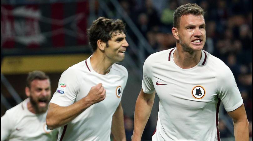 Serie A, Milan-Roma 1-4: Dzeko show e secondo posto